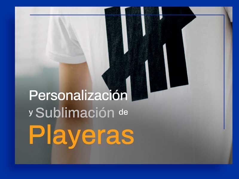 Sublimación de Playeras Personalizadas.