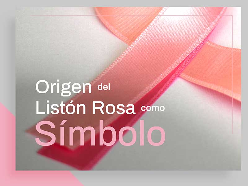Origen del Cordon Rosa como Símbolo