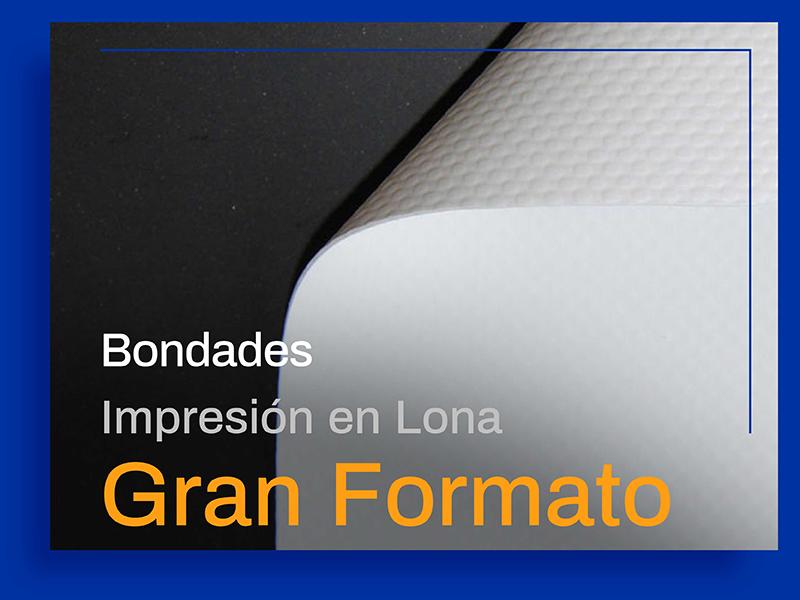 Bondades de la Impresión en Lona en Gran Formato