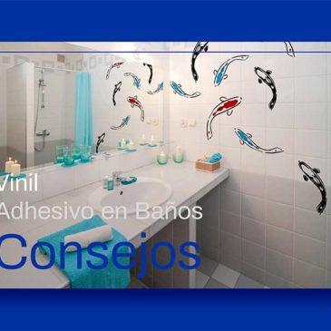 Consejos para Vinil Adhesivo en Baños