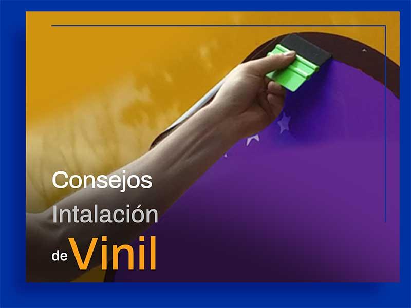 Consejos para Instalación de Vinil