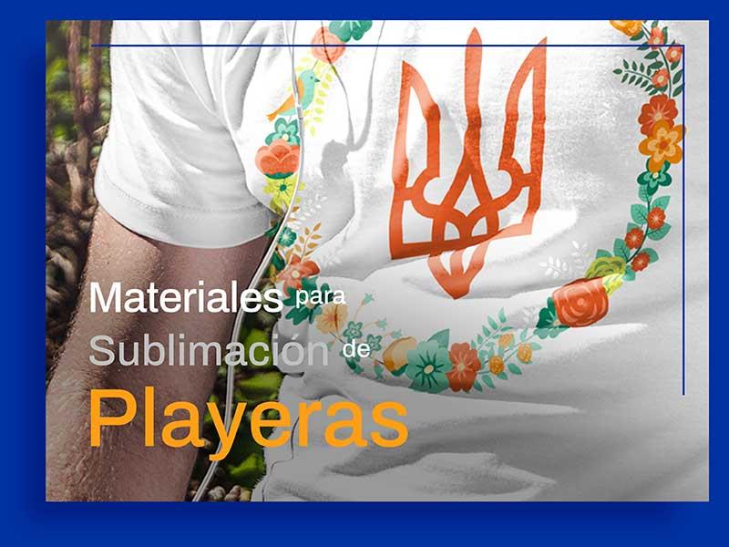 Materiales Recomendados para la Sublimación de Playeras