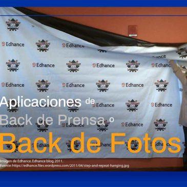 ¿Qué es un Fondo de Prensa o Back para Fotos?.