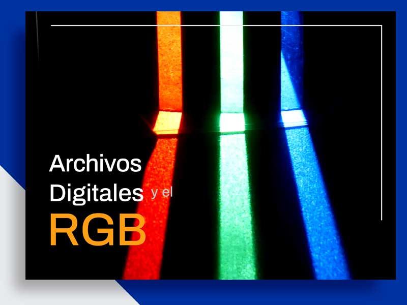 Colores RGB en el Medio Digital
