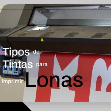 Tipos de Tintas para Impresión de Lonas